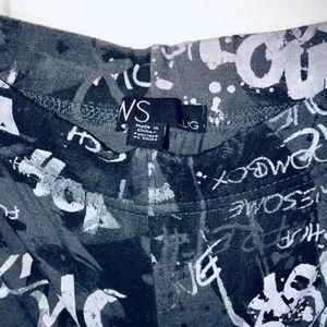 Bluenotes Pants - BLUENOTES Graffiti Print Leggings
